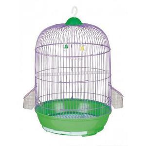 Jaula redonda grande para 2 aves - (52x33) - oferta -hauspet