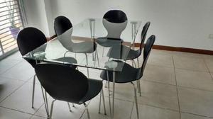 Mesa con sellado laser de moderno diseño