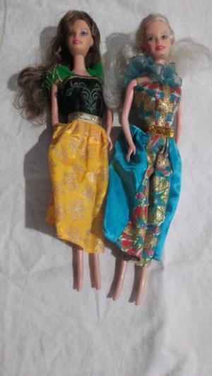 Muñecas barbie de goma originales
