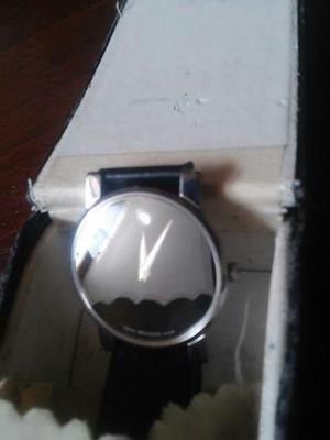 Reloj movado museum extra chato de lujo u$d 400