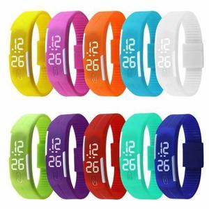Reloj pulsera unisex digital tactil silicona 50 u por mayor