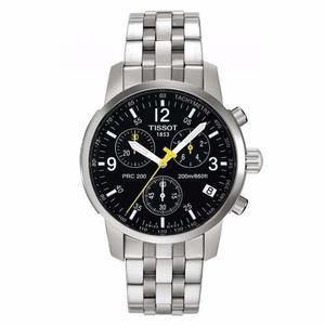 Reloj tissot prc 200 t17.1.586.52 cronógrafo zafiro acero