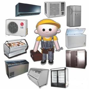Reparacion heladeras, frezeer y aires acondicionados carga