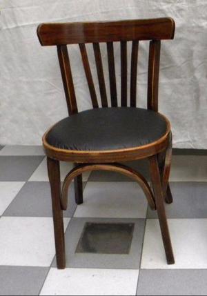 Silla thonet clásica de madera