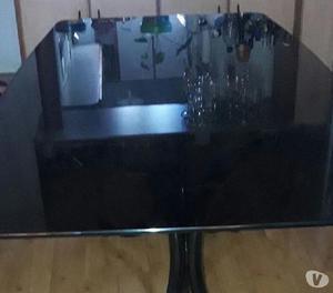 Tapa de mesa de vidrio fume 2x 090 a 1500$
