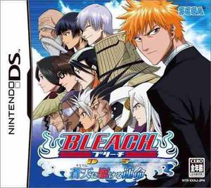 Bleach the blade of fate - nintendo ds - caja y manual