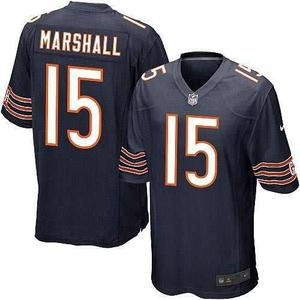 Camiseta nike chicago bears nfl marshall 15 on field 1ee94b3a469
