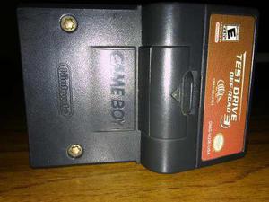 Cartucho, juego original para game boy con rumble test drive