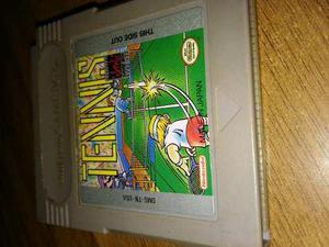 Cartucho, tennis para game boy juego original