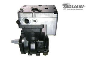 Compresor aire camion cursor original iveco 504308489