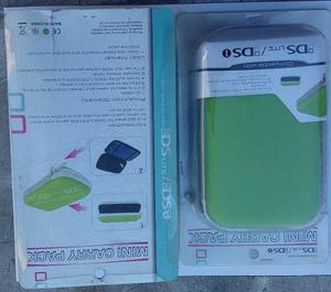 Funda rigida nintendo ds lite / ds i - nueva - color verde