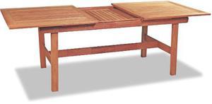 Mesa madera extensible 1.50/2.20mts jardín interior