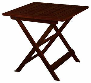 Mesa madera plegable jardín bar plegadiza fabrica amoblar