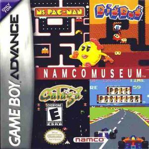 Namco museum nintendo game boy advance gba gtia vdgmrs