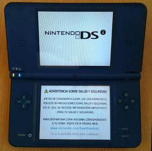 Nintendo ds con estuche de viaje y 6 juegos