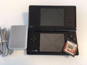 Nintendo dsi negro + juego pokemon ranger