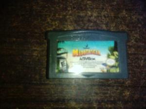 Nintendo gameboy advance madagascar juego original cartucho