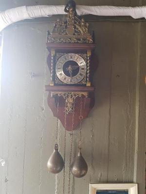 Reloj de pared holandes neerlandes nu elck syn sin