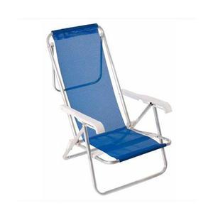 Reposera reclinable sannet 7/8 mor azul aluminio tio musa
