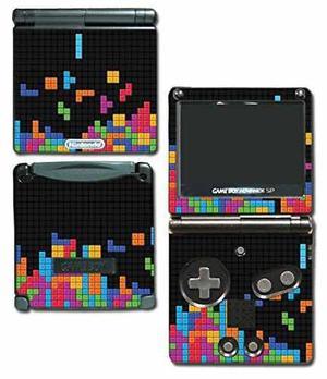 Retro game boy tetris arte original de vinilo de vinilo de
