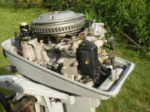 Motor fuera de borda 6,5 hp excelente