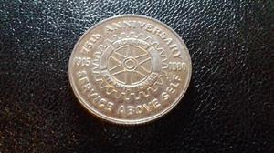 Monedas comunes y conmemorativas brasil chile estados unidos