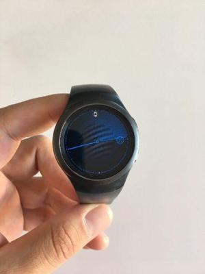 Reloj samsung gear s2, inmaculado color negro