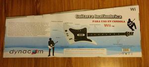 Guitarra eléctrica para wii