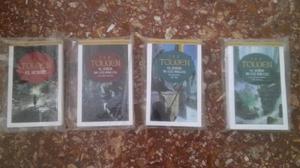 Libros el señor de los anillos y el hobbit