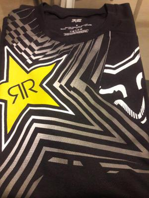 Remera mangas larga nueva fox ride negra t m d842269c2b922