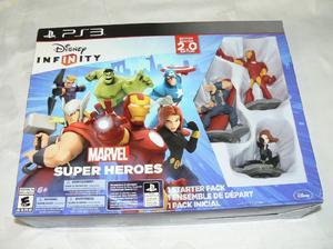 Starter pack ps3 disney infinity marvel super heroes