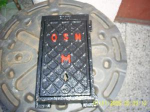 Antigua caja hierro fundido osn