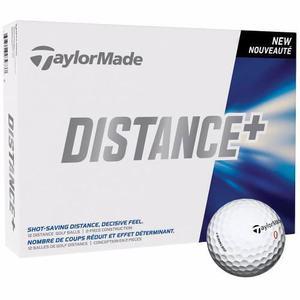 Docena pelotas taylormade distance+ golflab