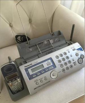 Fax panasonic con telefono inalámbrico
