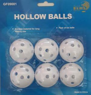 Kaddygolf. accesorios para golf - pelotas huecas x 6