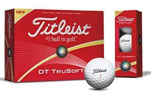 Kaddygolf pelotas titleist dt trusoft golf caja x 24 nuevas