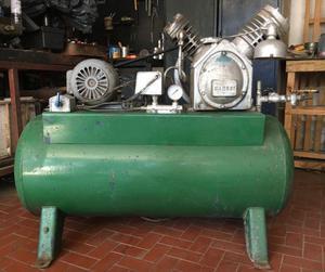 Liquido compresor cadeci bicilíndrico alta y baja con motor