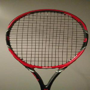 Raqueta de tenis wilson team 105 roger federer nivel