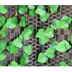 Enredadera artificial hiedra hojas planta 28 mts decoración
