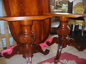 Mesa antigua mesa de madera tallada mesa de comedor luis xvi en ...