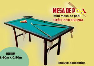 Mini pool patas plegables