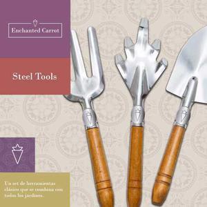 Steel tools - set de herramientas enchanted carrot