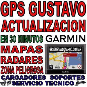 Actualización gps garmin 2018 - mapas radares fotomultas.