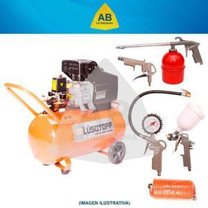 Compresor de aire 50 lts 2.5 hp portatil todo uso. oferta!!