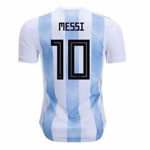 Camiseta argentina 2017-2018 adidas original messi 10 etc