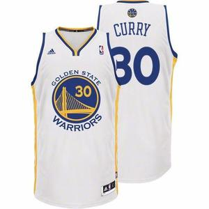 Camiseta basquet nba golden state warriors blanca curry