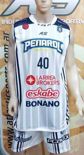 Camiseta de basquet peñarol de mar del plata 17/18 a's