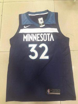 Camiseta nike nueva nba basquet minnesota timberwolves towns de6dc86d282