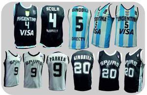 Camisetas de basquet niño adulto todo los talles