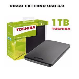 Disco externo usb toshiba 1tb 3.0